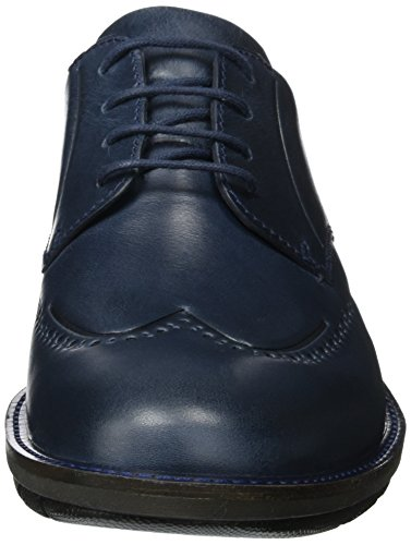 Ecco Herren Jeremy Brogues Blau (Denim Blue)