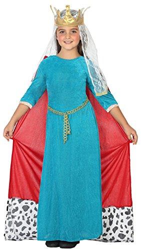 erliche Königin, 140 cm (Mittelalterliches Mädchen-kleid)