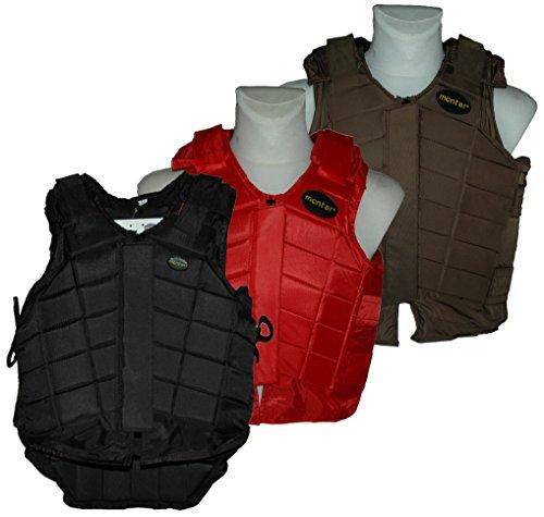 original montar Damen / Herren Reitschutzweste , Model: Bodyprotector, Farbe: schwarz, Größe: XL, --- NEU ---, UPE: 129.90 Euro