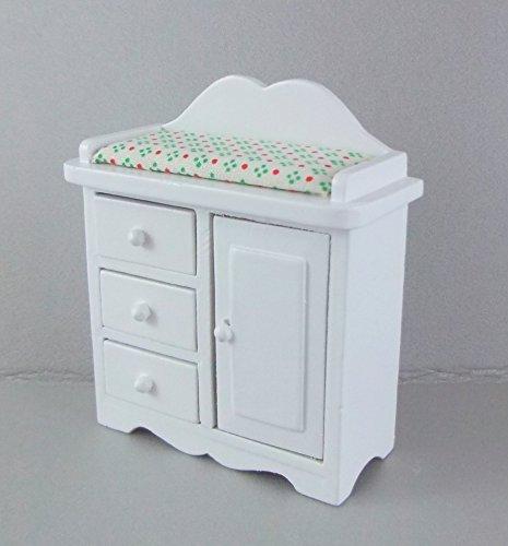 Melody Jane Miniatura Per Casa Delle Bambole 1:12 Scala Arredamento Cameretta Bianco Bambino Fasciatoio