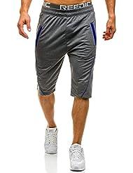 BOLF – Homme Short de sport – Pantalons courts – Sport – Motif [7G7]