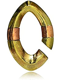 Piercing Ohrgewicht gold rotgold 8mm Kupfer Messing 23,5g 50mm Mandel  Creolen antik   Lobe Ohr Dehner… 430f4ab5d4