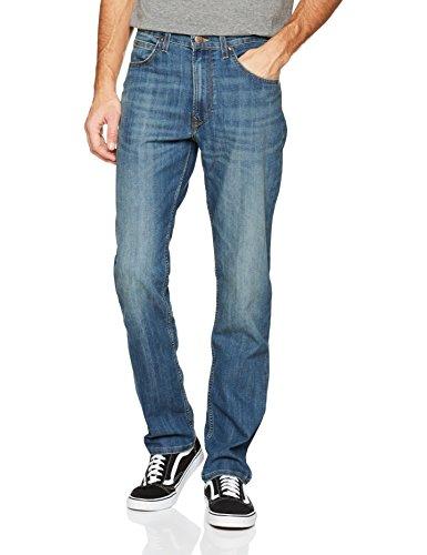 Lee Herren Jeans Brooklyn Straight Blau (Jurassic Acmy)