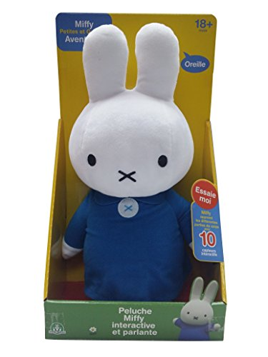Miffy Plush - Interactive Talking - 37cm 14.5""