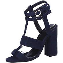 Covermason Zapatos Tacón alto mujer verano 2018, fiesta de tobillo