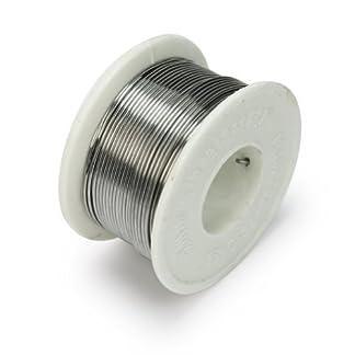 63/37 1mm Rollo de Alambre Cable Soldadura Soldar Estaño FLUX 2% Buena Calidad