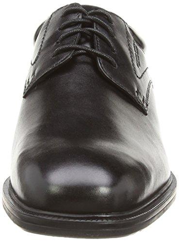 Rockport Pln Toe, Derby Homme Noir (Black)