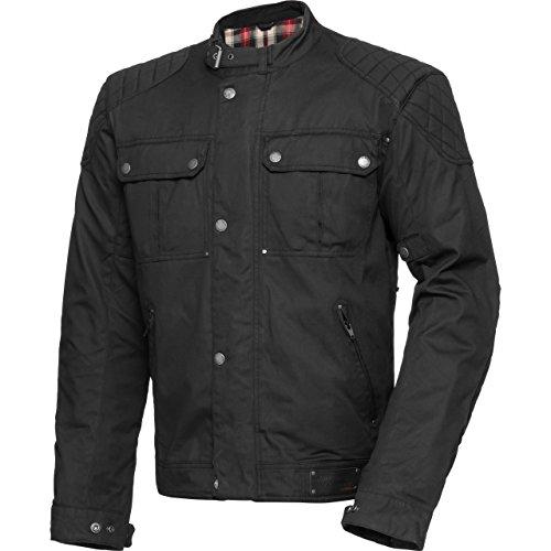 Spirit Motors Motorradschutzjacke, Motorradjacke Retro-Style Textiljacke 1.0 schwarz XXL, Herren, Chopper/Cruiser, Ganzjährig