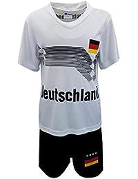 Unbekannt Fussball Fan Set, Deutschland, Germany, Trikot + Shorts, JSn53e