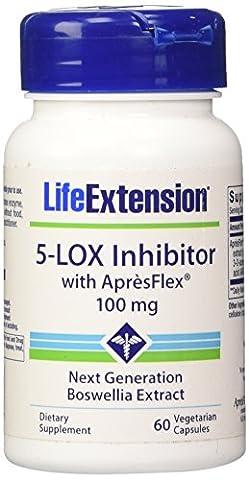 5LOX Inhibitor with ApresFlex 100 mg 60 vegetarian capsules