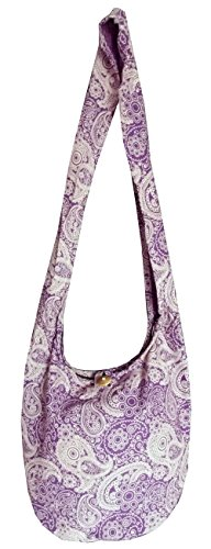 Paisley Pattern Hippy Bag
