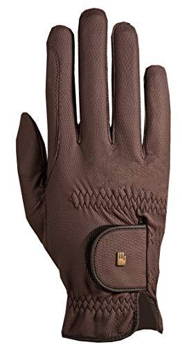 Roeckl Sports Roeck Grip Winter Handschuh, Unisex Reithandschuhe, Mokka, 7,5