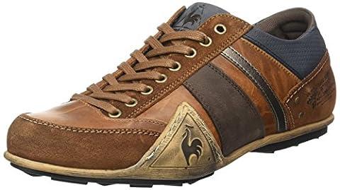 Le Coq Sportif Turin Leather Suede, Baskets Basses Homme, Marron (Tortoise Shell/Dress), 42 EU