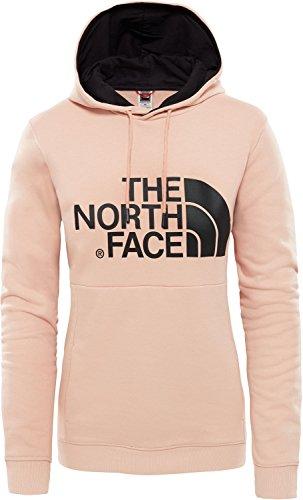 THE NORTH FACE Drew Kapuzenpullover Damen rosa/schwarz, XL