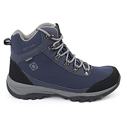 IZAS Men Gouter Outdoor Hiking Boot - Bluemoon/Silver, One Size 2