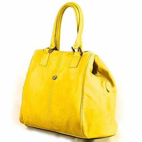 Tornabuoni , Sac pour femme à porter à l'épaule jaune