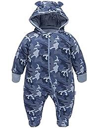 Ex Chain-Store Neugeborenes Baby Kleinkinder Kunstpelz Schneeanzug