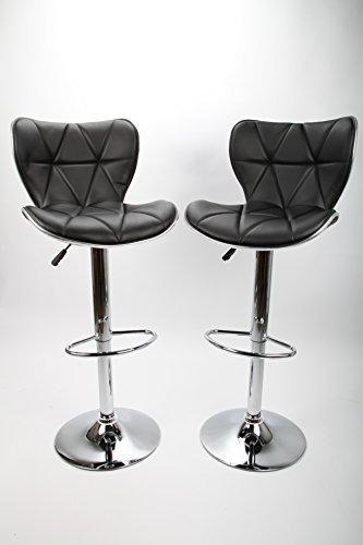 2x point-home Barhocker Barstuhl Bar Stuhl 2er Set Designstuhl