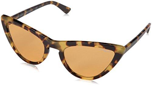 Vogue Eyewear Damen 0VO5211S 2605/7 54 Sonnenbrille, Gelb (Brown Yellow Tortoise/Orange),