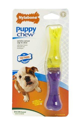 Interpet 982083 Nylabone - Puppy Stix Welpen-Kauknochen, klein -