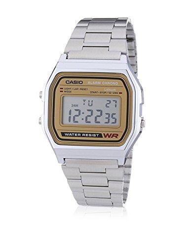 Casio Reloj con movimiento cuarzo japonés Unisex A-158Wa-9 30.0 mm