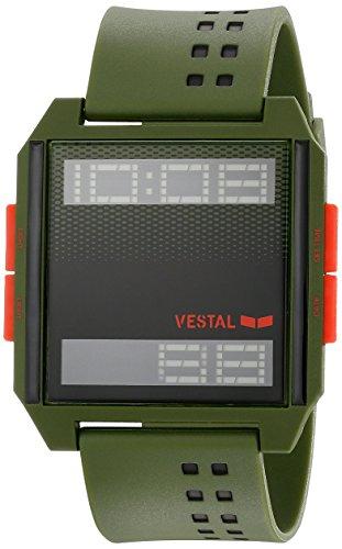 Vestal Unisex DIG035 Digichord Digital Display Quartz Green Watch