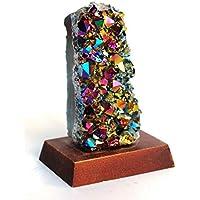 Reiki Healing Energy Charged Unique Raw Titanium Rainbow Aura Quarz Kristall Stein 194 g auf Holzsockel preisvergleich bei billige-tabletten.eu