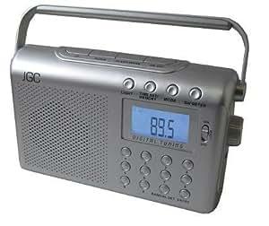JGC kofferradio radio-réveil-radio-réveil-radio-réveil avec lecteur uR - 210