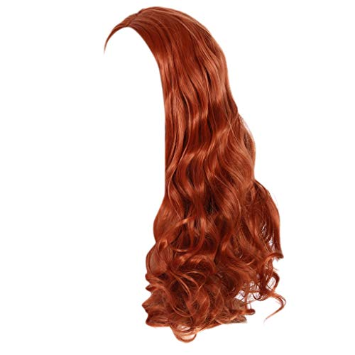 Setsail NEU wunder schönen langen welligen Blondinemischen Haut oben Lockenperücke Haar