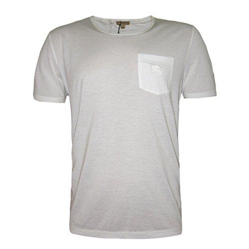 843062ac1dcb BURBERRY Brit Herren Stretch Fit T-Shirt, T-Shirt, Weiß Größe M