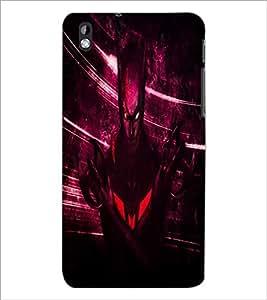 PrintDhaba Batman D-4851 Back Case Cover for HTC DESIRE 816 (Multi-Coloured)
