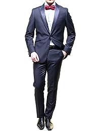 Leader Mode - Costume Zc15-116 Smok Col Pointe Navy Blue