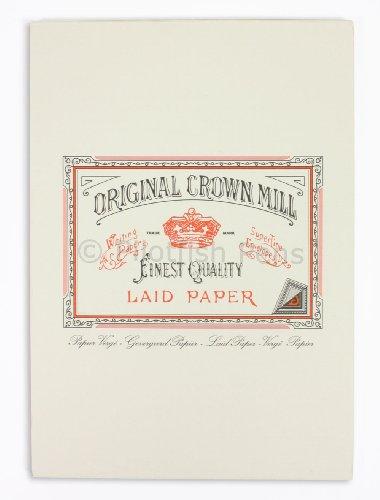original-crown-mill-classic-line-a4-texture-laid-ecriture-pad-bleu-lot-de-50