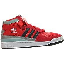 adidas Forum MID RS Winterized - Zapatillas para hombre, color rojo / blanco / negro