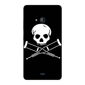 Special Danger Black Back Case Cover for Lumia 540