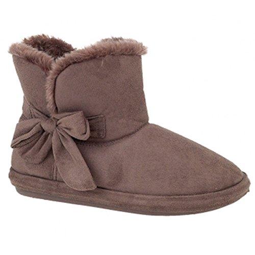 Jyoti, Pantofole donna Marrone (Dark Brown)