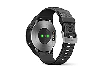 Huawei Watch 2 (Bluetooth) Smartwatch Mit Schwarzem Sportarmband (Nfc, Bluetooth, Wlan, Android Wear™ 2.0) Schwarz 1