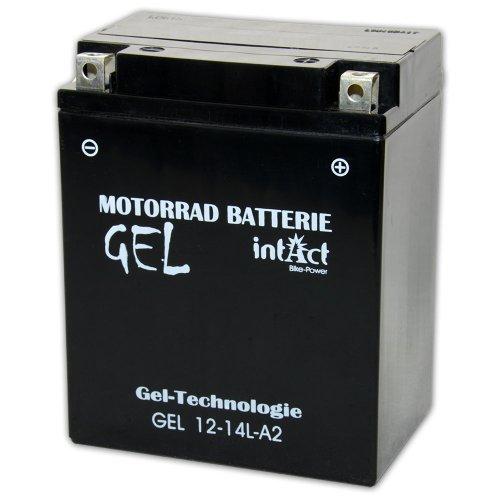 Preisvergleich Produktbild Motorrad Batterie 12V 14Ah, 51411, GEL12-14L-A2, YB14L-A2,