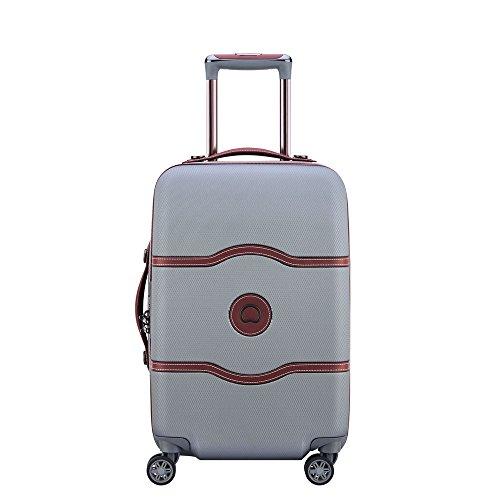 DELSEY Paris Chatelet AIR Hand Luggage, 55 cm, 39 liters, Grey (Argent)