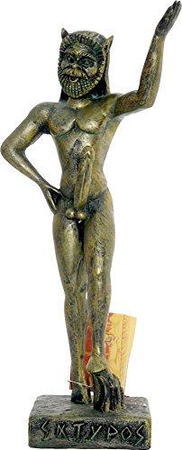 Satyr Griechische Statue griechischen Mythologie 32cm/ 12.59 Zoll
