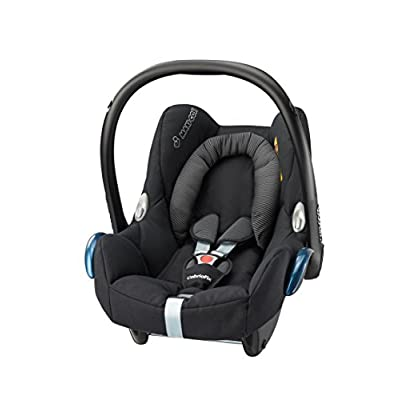 Maxi-Cosi CabrioFix Baby Car Seat Group 0+, ISOFIX, 0-12 Months, 0-13 kg, Black Raven  Columbus Trading Partners GmbH & Co. KG (formerly Cybex)
