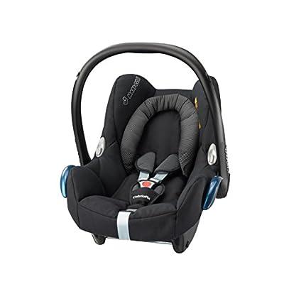 Maxi-Cosi CabrioFix Baby Car Seat Group 0+, ISOFIX, 0-12 Months, 0-13 kg, Black Raven  MAXI-COSI