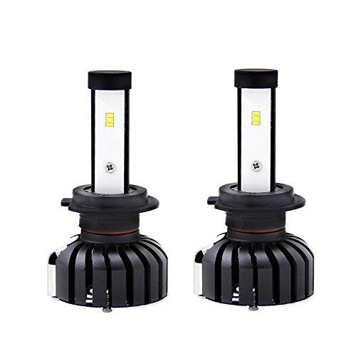 Produktbild Kit LED Scheinwerfer H7 6000 K 80 W 8000LM All in One Umwandlung Chip CSP Super Helligkeit bi-xenon Play & Plug Scheinwerfer