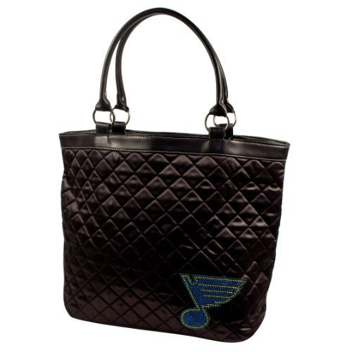 nhl-st-louis-blues-sport-noir-quilted-tote-black-by-littlearth