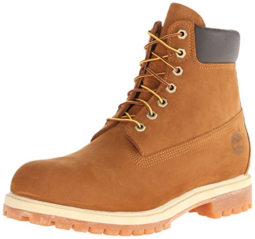 Timberland 6 in Premium FTB_6 in Premium Boot, Bottes homme - Brown (Rust orange), 45.5 EU