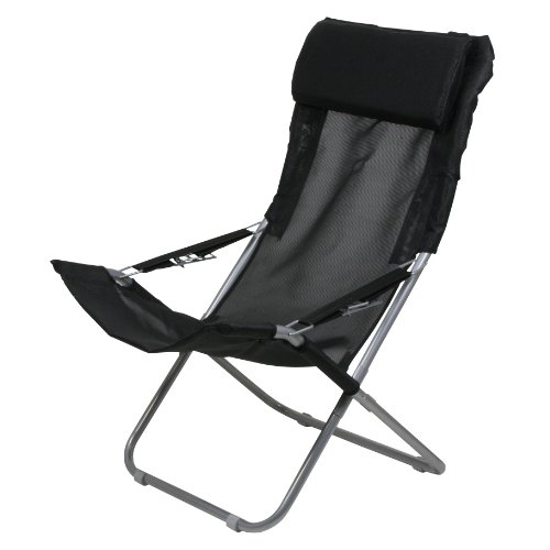41T p8160zL. SS500  - 10T Maxi Chair - Camping chair, relax high back with head cushion, 4x adjustments, foldable