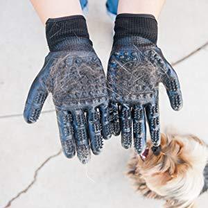 Zoom IMG-3 guanti pelo animali 1 paio