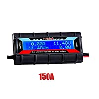 150A Watt Meter Power Analyzer, FOONEE High Precision Battery Voltage Amp Meter With Backlight Digital LCD Screen for Voltage (V) Current (A) Power (W) Charge(Ah) and Energy (Wh) Measurement