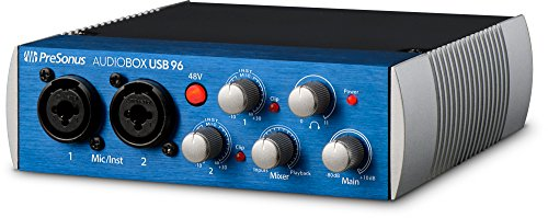 PRESONUS Audiobox USB 96 – Audio Interface