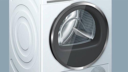 Siemens iQ800 WT47Y701 iSensoric Premium-Wärmepumpentrockner / A++ / 8 kg / Weiß / Selbstreinigender Kondensator / SoftDry-Trommelsystem / TFT-Display - 11
